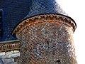 Noircourt église fortifiée (façade Ouest - échauguette à droite).jpg