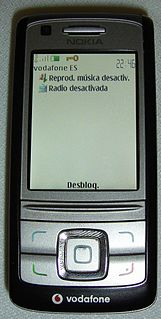 Nokia 6280 Series series of mobilrme phones