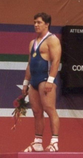 Norberto Oberburger - Oberburger at the 1984 Olympics