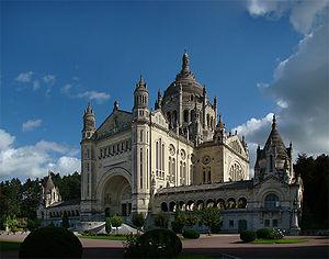 Lisieux - Basilica of Sainte-Thérèse de Lisieux