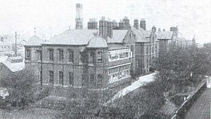 St. George's Square, Barrow-in-Furness - North Lonsdale Hospital pictured in the early 20th Century