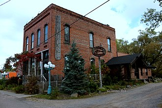Sawyer County, Wisconsin - Image: North Wisconsin Lumber Company Office, 2014