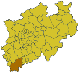 Euskirchen (district) - Image: North rhine w eu