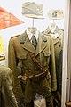 """Norway in WW2. Uniform for officer-district leader in the Norwegian Labour Service (""""fylkesleder og mening soldat i NS' Arbeidestjenesten, AT""""), Sam Browne crossbelt, etc. Lofoten Krigsminnemuseum 2019-05-08 DSC00086.jpg"""