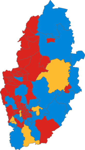 Nottinghamshire County Council elections - Image: Nottinghamshire County Council election, 1993