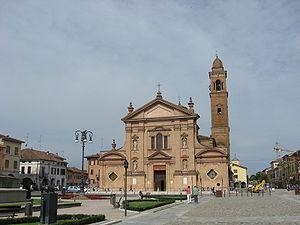 Novellara - Piazza Unità d'Italia