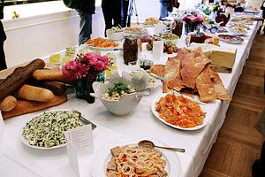 Smörgåsbord - A Nordic smorgasbord