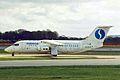 OO-DJP 1 B.Ae 146-RJ85 Sabena-DAT MAN 11APR99 (6050712973).jpg