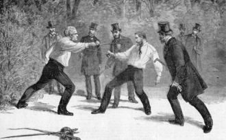 Charles Floquet - The duel between Floquet and General Boulanger in 1888