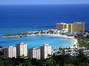 English: View of Ocho Rios Glenn Standish