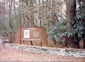 Oconee State Park - Image: Oconee state park