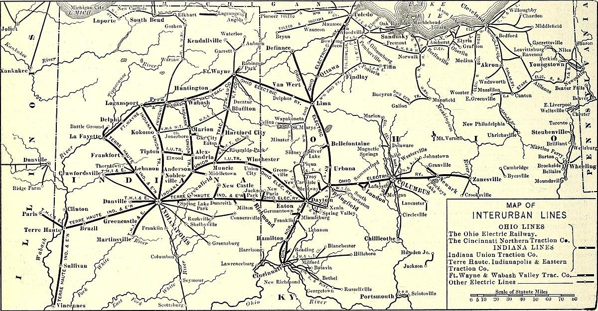 Ohio Electric Railway Wikipedia