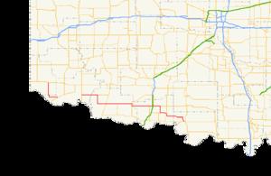 Oklahoma State Highway 5 - Image: Ok 5 path