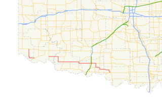 Oklahoma State Highway 5 highway in Oklahoma