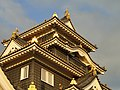 Okayama Castle detail - DSC01805.JPG