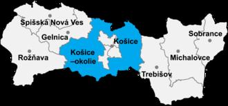Nižná Hutka - Košice-okolie District in the Kosice Region