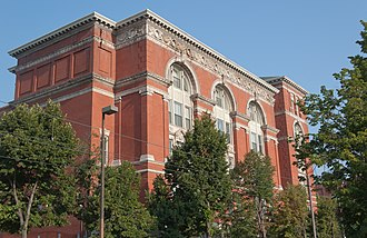 National Register of Historic Places listings in Central Baltimore - Image: Old Baltimore City College Market Center 08 11