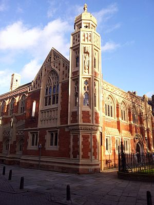 Faculty of Divinity, University of Cambridge - Image: Old Divinity School, St John's College, Cambridge