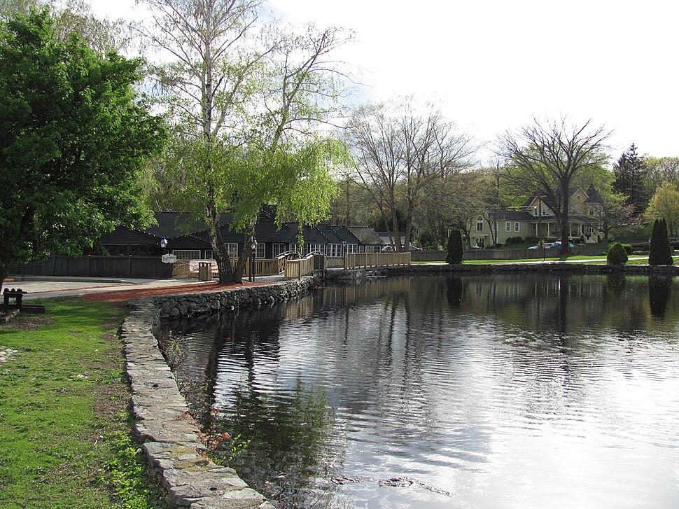 Old Grist Mill Pond, Seekonk MA
