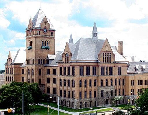 Old Main WSU - Detroit Michigan