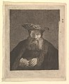 Old Man with Beard and Flat Cap, after Rembrandt MET DP820694.jpg