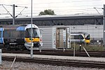 Old Oak Common - Heathrow Express 332012 and 360205.JPG