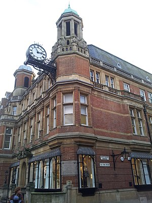 Municipal Borough of Richmond (Surrey) - The former town hall of Richmond which now houses the Reference Library and the Museum of Richmond