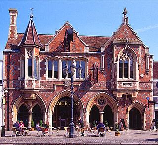 Berkhamsted civil parish and town in Dacorum, Hertfordshire in England