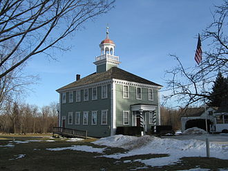 Westford, Massachusetts - Old Westford Academy, now the Westford Museum