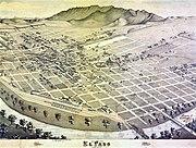 Old map-El Paso-1886