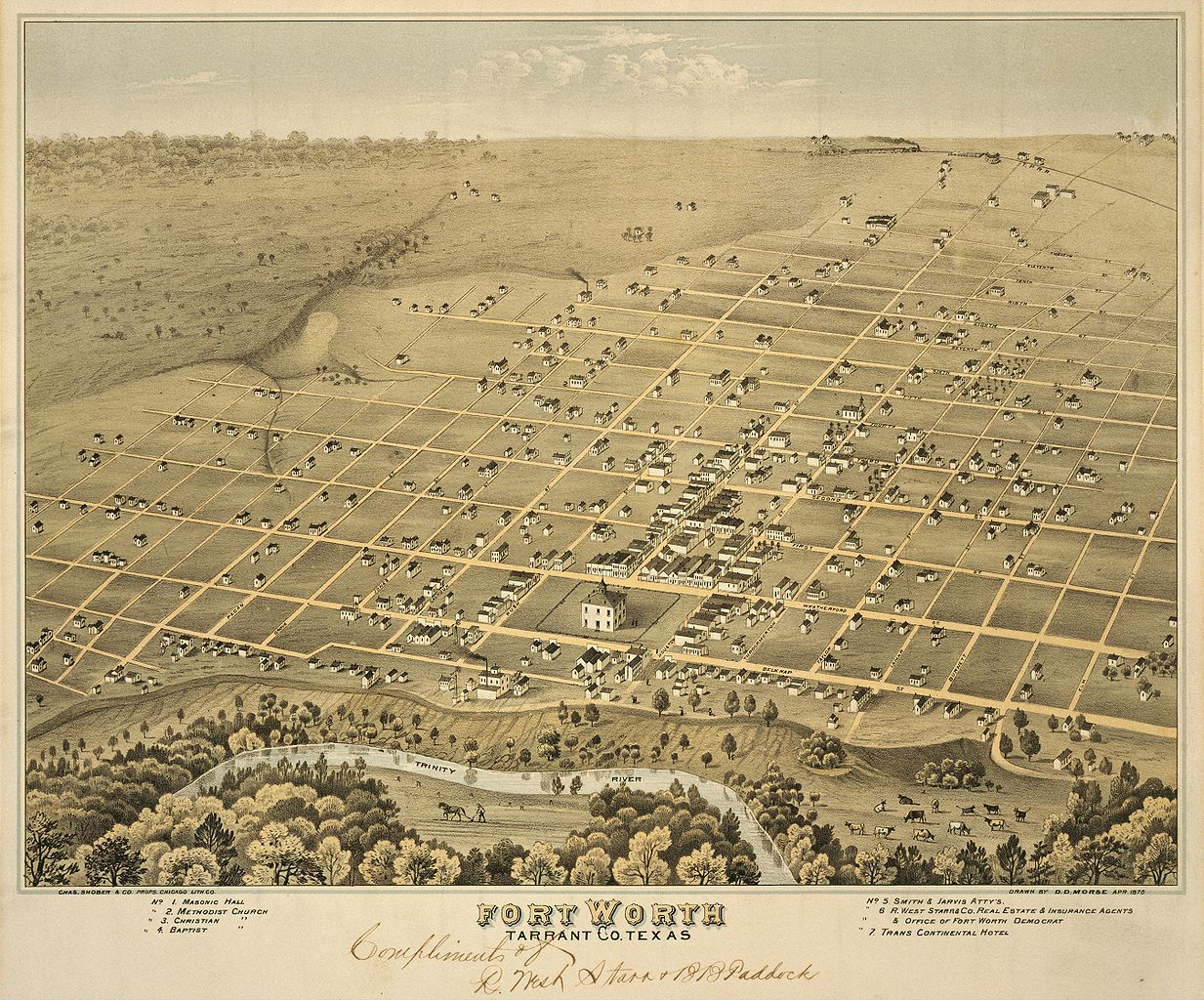 File:Old map-Fort Worth-1876.jpg - Wikimedia Commons