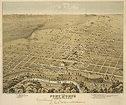 Old map-Fort Worth-1876