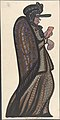 Old woman carrying a red and white checkered card MET DP804843.jpg