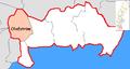 Olofström Municipality in Blekinge County.png
