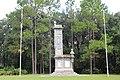 Olustee monument and flagpoles in Olustee Battlefield.jpg