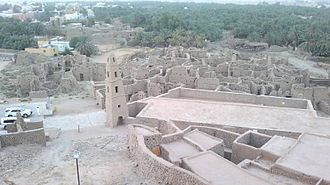 Dumat al-Jandal - Omar Mosque and Al Dar'i Quarter in Dumat Al-Jandal.