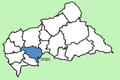 Ombella-M'Poko Prefecture Central African Republic locator.png