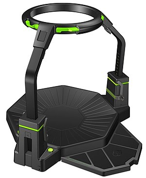 Virtuix Omni - Design of the Virtuix Omni as showcased at the 2015 Consumer Electronics Show in Las Vegas.
