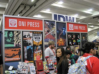 Oni Press - Oni Press booth, WonderCon 2010