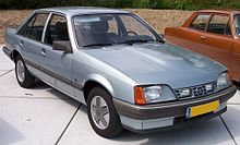 ever since the introduction of the first diesel powered opel rekord in  1972, the diesel engine had been too tall for the standard car's engine  compartment,