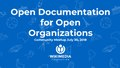 Open Documentation for Open Organizations Community Meetup July 30, 2018.pdf