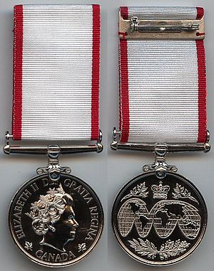Operational Service Medal (Canada) - Operational Service Medal for service in humanitarian missions