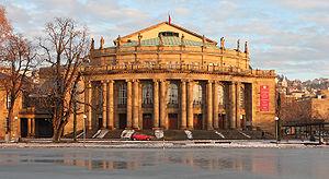 Stuttgart-Center - Staatsoper Stuttgart