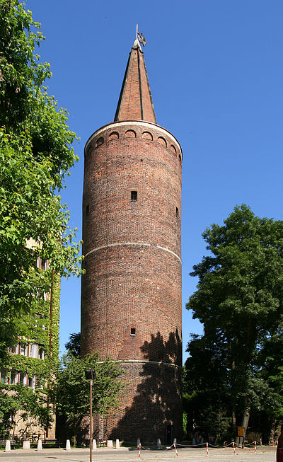 Wieża Piastowska w Opolu