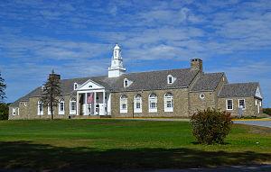 Franklin Delano Roosevelt High School (Hyde Park, New York) - Original high school building now used as the Haviland Middle School