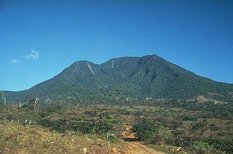 Orosí Volcano - SW view of Orosi, 1989