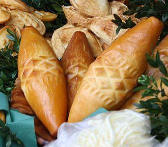 Brined cheese - Traditional Oscypek
