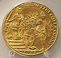 Osella veneziana, alvise III sebastiano mocenigo, anno VIII, 1729.JPG