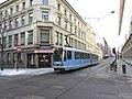 Oslo tram line 19 on Prinsens gate 01.jpg