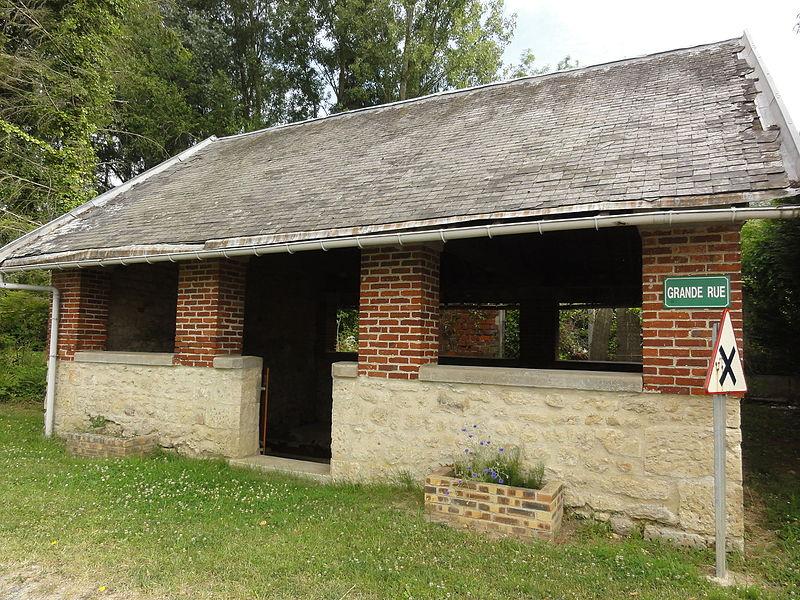 Oulches-la-Vallée-Foulon (Aisne) lavoir